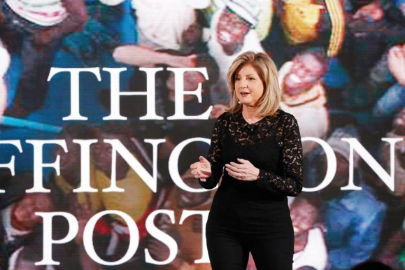 Arianna Huffington quitte le Huffington Post