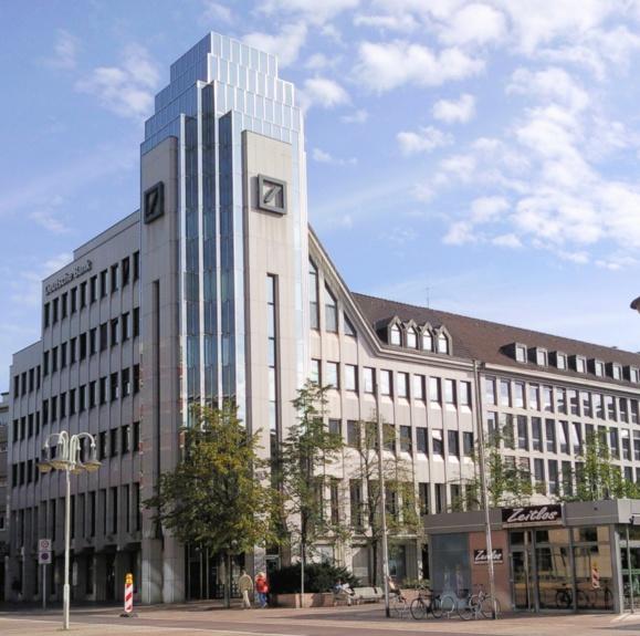 Deutsche Bank : une amende moins élevée que prévu