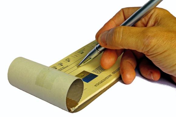 Encaisser un chèque avec un smartphone : bientôt une réalité