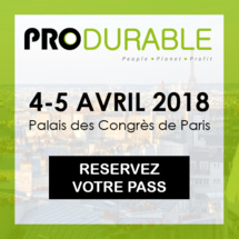 PRODURABLE, 11ème édition, 4 & 5 avril 2018 à PARIS