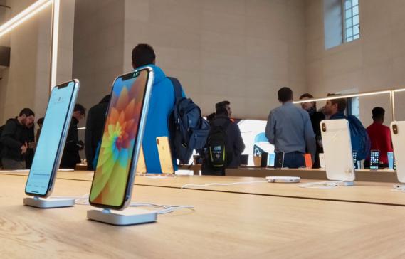 Pas de prime chez Apple, les salariés français en grève