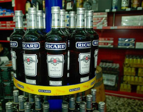 Les alcools Pernod Ricard disparaissent des rayons E. Leclerc