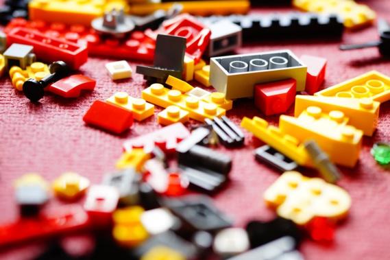 En Chine, une impressionnante saisie de contrefaçons de Lego