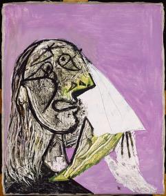 La Femme qui pleure 18 oct. 1937 © RMN-Grand-Palais/Succession Picasso