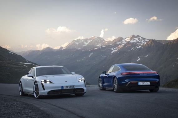Avec sa Taycan 100% électrique, Porsche défie Tesla