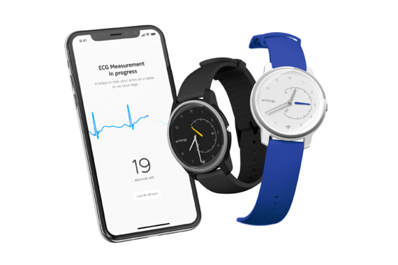 Avec sa Move ECG, le Français Withings s'attaque à l'Apple Watch