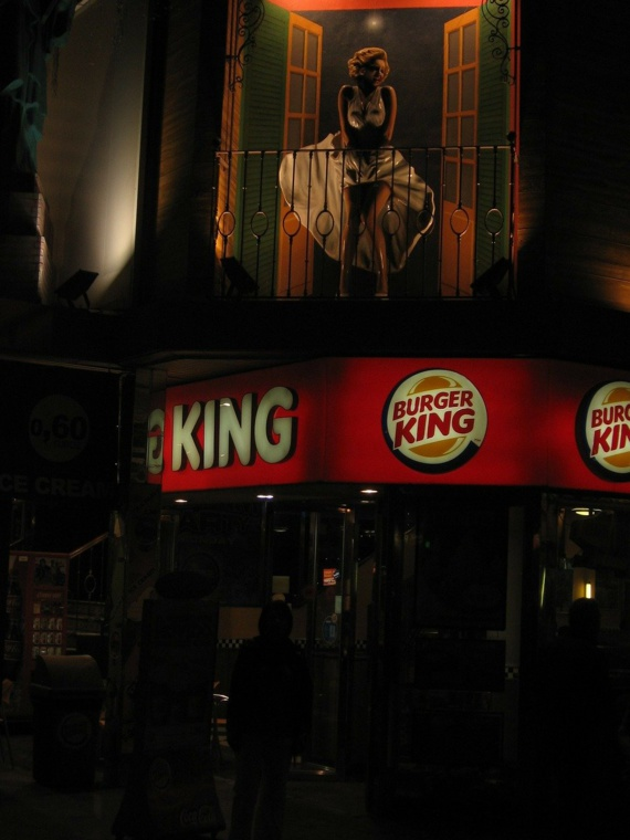 Un burger végétarien chez Burger King