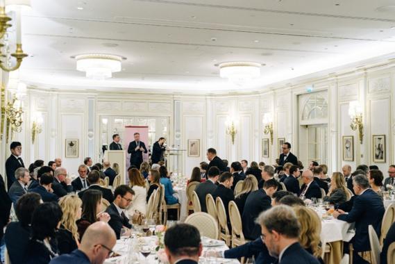 Jean-Baptiste LEMOYNE, secrétaire d'Etat auprès du ministre de l'Europe et des Affaires étrangères / Dîner de gala, mercredi 13 novembre 2019