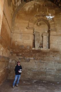 Temple de Shamas à Hatra étudié par drone - (c) ISMEO