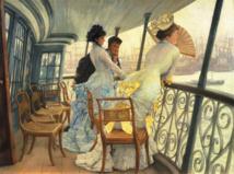 Tissot_La galerie du HMS à Calcutta