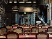 Bibliothèque Richelieu – Salle de lecture des manuscrits © Jean-Christophe Ballot/BnF/Oppic