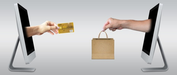 Les ventes en ligne ont fortement augmenté l'an dernier