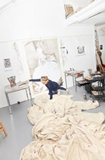 Mireille Blanc by Vincent Ferrané. Visitor. Éditions Librayman 2018