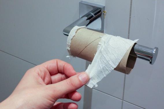 Vers une pénurie de papier toilette