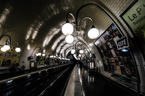 Hausse de la fréquentation dans les transports en commun à Paris