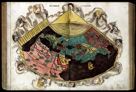 La Cosmographie de Ptolémée, édition de 1520, ©Ville de Sélestat
