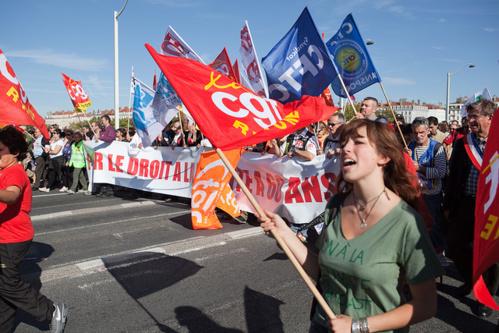 La précédente mobilisation du 10 septembre avait réuni dans toute la France environ 370 000 personnes selon la CGT, 155 000 personnes selon la police.