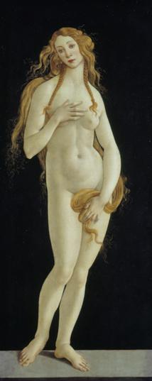 Venus pudica, vers 1485-1490, huile sur toile, Berlin, Staatliche Museen zu Berlin, Gemäldegalerie, Photo © BPK, Berlin, Dist.RMN-Grand Palais / Jörg P. Anders