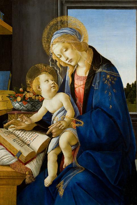 Madone au livre, vers 1482-1483, tempera sur bois, Milan, Museo Poldi Pezzoli © Museo Poldi Pezzoli – fotodarte