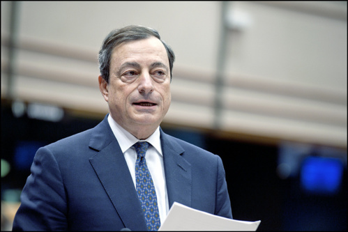 Mario Draghi - cc/flickr/European Parliament