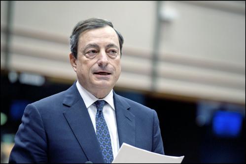 Mario Draghi - cc/flickr/European Parliament
