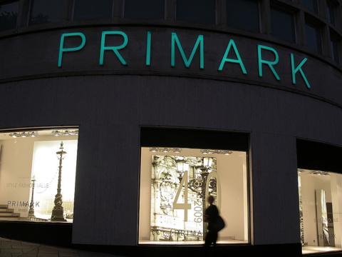 Primark est présent dans 9 pays européens, autour de la France.