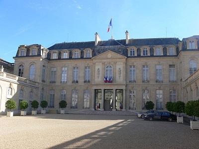 Le palais de l'Élysée - Crédit photo: Remi Mathis