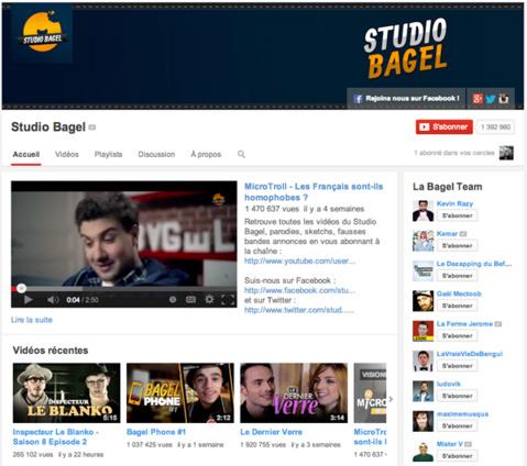 Avec Studio Bagel, Canal+ s'offre un géant de l'humour sur YouTube
