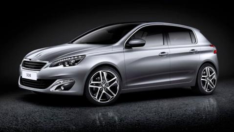 La Peugeot 308 sacrée Voiture de l'année avant l'ouverture du Salon de l'Auto de Genève