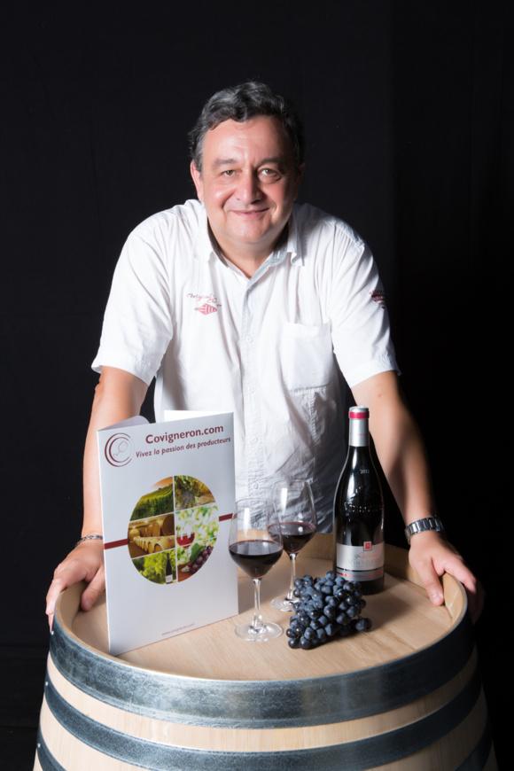 Alain Michalon, fondateur de Covigneron.com Crédit: Covigneron.com