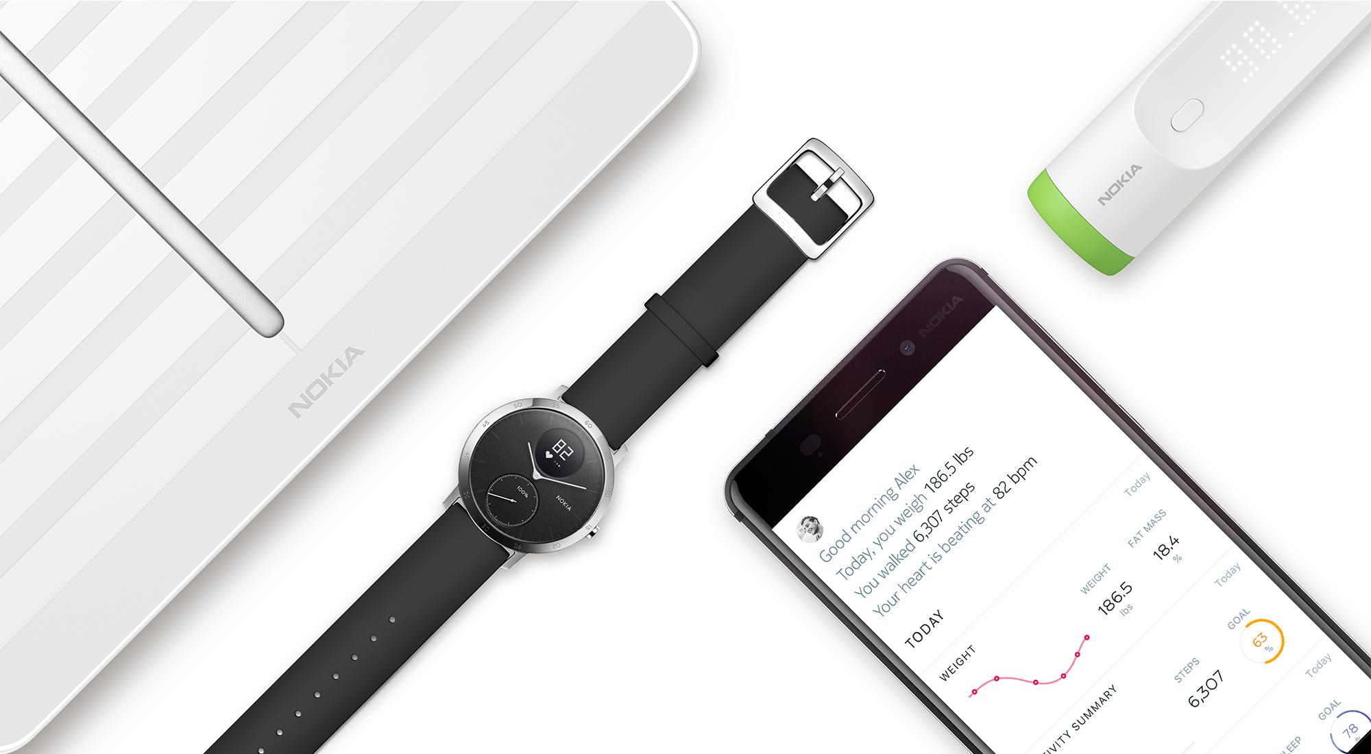 La marque Withings devient Nokia