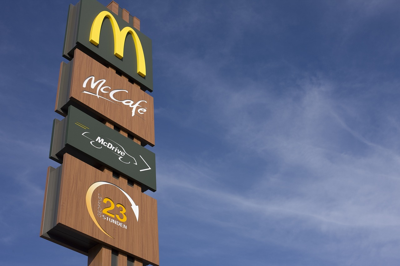 Un burger végétarien chez McDonald's