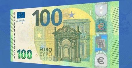 Voici à quoi ressemblent les nouveaux billets de 100 et 200 euros