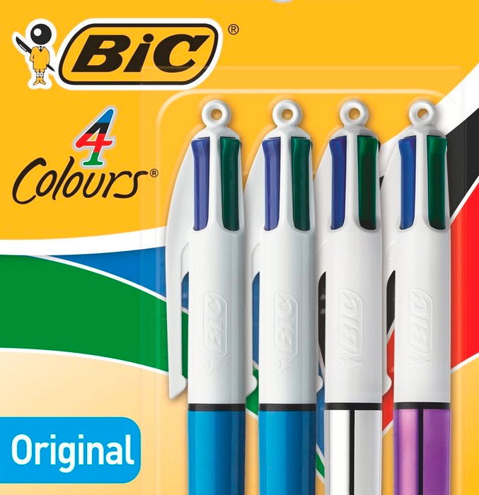 Bic délocalise son mythique stylo 4 couleurs
