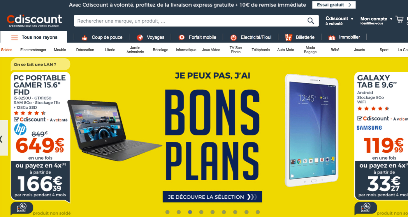 Cdiscount Solide Leader Du E Commerce Francais Derriere Amazon