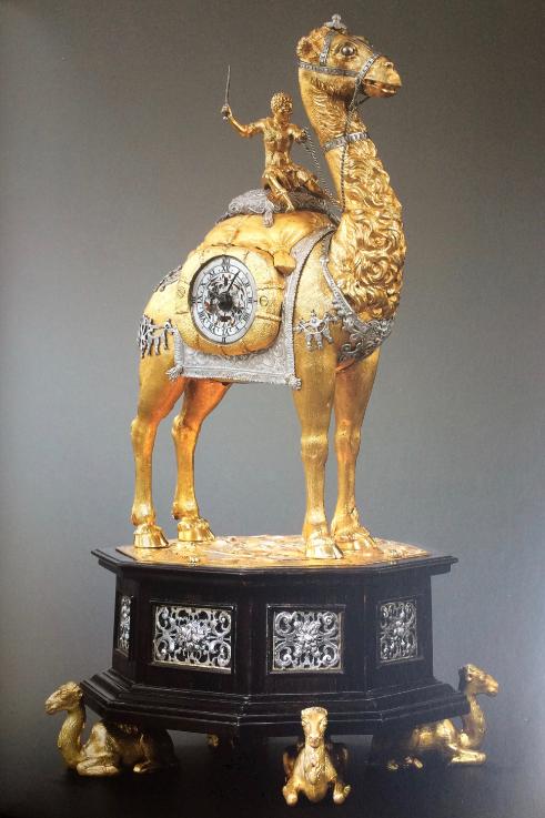 Horloge à automate figurant un dromadaire monté_Augsbourg, v 1595-