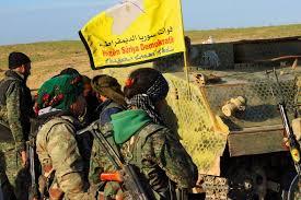 Combattants kurdes du YPG