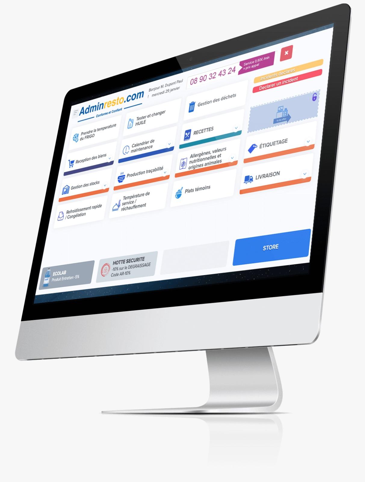 Adminresto : un site pour simplifier les démarches administratives des secteurs de la restauration et de l'hôtellerie