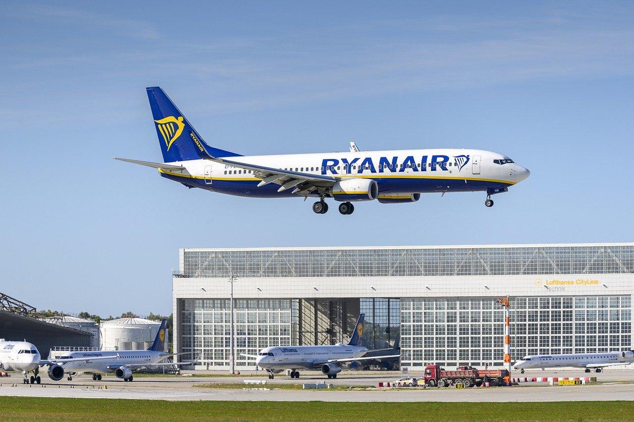 Ryanair baisse le nombre de ses vols pour septembre et octobre