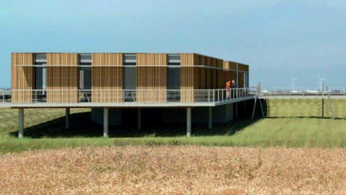 Un premier site de production et de R&D en Vendée. (Crédit : Lhyfe)