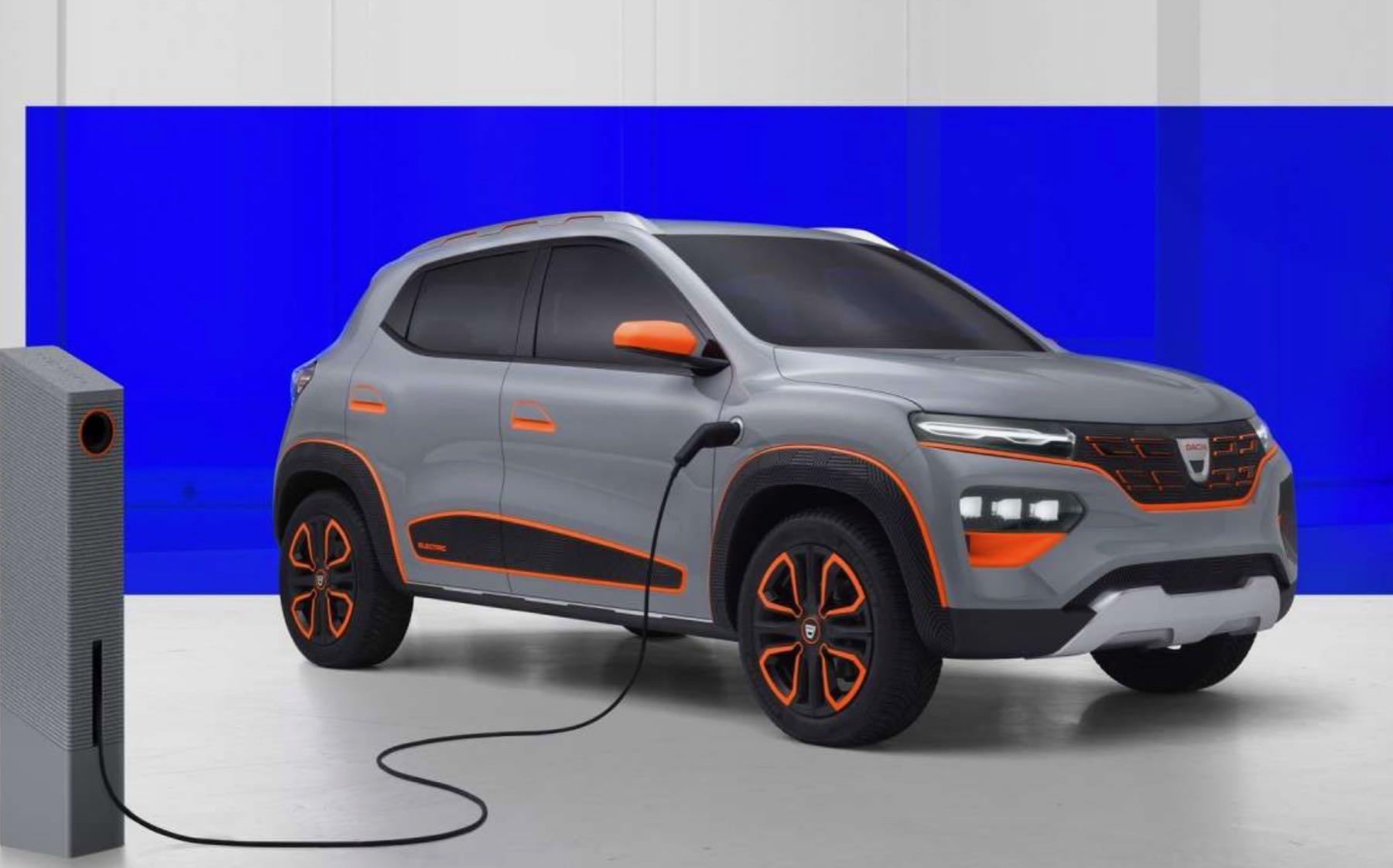 Dacia va dévoiler sa voiture électrique à moins de 10.000 euros