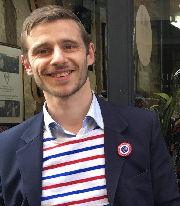 """Christophe de Villeblanche, fondateur et patron de l'enseigne """"Le Chic Français"""""""