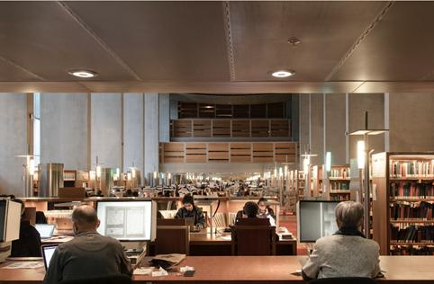 Bibliothèque nationale de France – Salle de lecture © Thierry Ardouin/Tendance Floue/BnF/