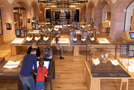 Bibliothèque Humaniste, salle d'exposition ©Ville de Sélestat
