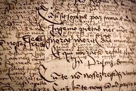 Cahier d'écolier de Beatus Rhenanus ©PMod
