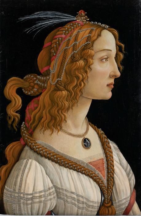Figure allégorique dite La Belle Simonetta, vers 1485, tempera et huile sur bois de peuplier, Francfort-sur-le-Main, Städel Museum, CC BY-SA 4.0 Städel Museum, Frankfurt