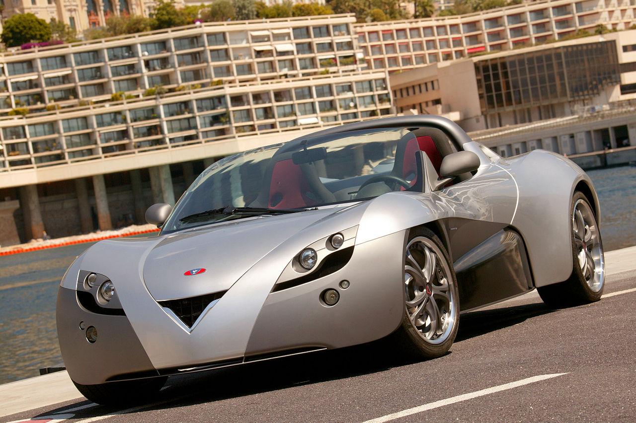 La française et monégasque Fetish de Venturi, première sportive 100% électrique 2 places au monde (crédit : Venturi.fr)