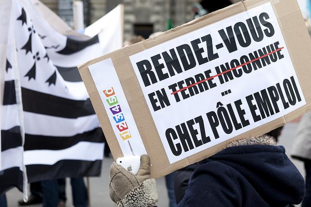 Le nombre d'emplois en France a encore diminué de 0,1 % en France.