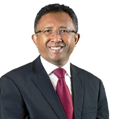 Hery Rajaonarimampianina, candidat au second tour de l'élection présidentielle malgache qui se tiendra le 20 décembre prochain, sur la grande île.