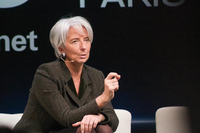 Christine Lagarde a appelé l'Europe à ne pas se reposer sur ses lauriers, car la crise n'est pas réglée.
